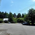 小代 行川庵 - 広い駐車スペース