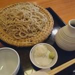 妙庵 - 料理写真:ざるそば