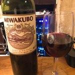 ジビエ&ワイン ブラッスリー山梨 - マルサン葡萄酒 メルロー&プチベルドー2016