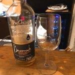 ジビエ&ワイン ブラッスリー山梨 - 試飲させてもらったウイスキー