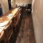 ジビエ&ワイン ブラッスリー山梨 - 店内