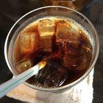 cafe ふたりのねこ - アイスコーヒー。 美味し。