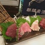 渋谷肉横丁 肉寿司 - 4種盛り合わせ