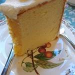 グロヴナーカフェ - 私のシフォンケーキ