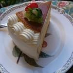 グロヴナーカフェ - 後輩のケーキ