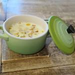 ガレット - ガレットセットのスープ