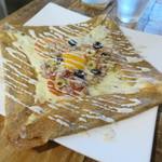 ガレット - ガレット(ツナトマトオリーブ卵チーズ)