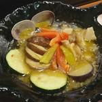貝料理専門店 磯ばし - 貝達のアヒージョ