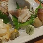 貝料理専門店 磯ばし - 刺し盛りアップ