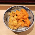 千成寿司 - 赤雲丹&馬糞雲丹