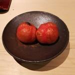 千成寿司 - 焼きミニトマト