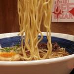 直久 - 直久こく旨辛味醤油らーめん810円麺アップ