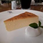 ナス・ショウゾウ カフェ - チーズケーキ(450円)