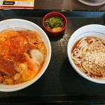 なか卯 - 料理写真:カツ丼セット