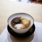フルタ - ☆天草産鱧、冬瓜、ジュンサイの上湯スープ