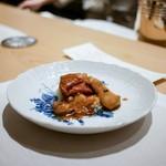 フルタ - ☆仔羊の生キャラメル風味オイスターソース、ポルチーニ茸添え