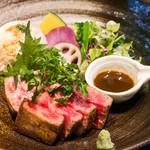 吉祥寺 三うら - 料理写真:伊万里牛リブロースステーキ