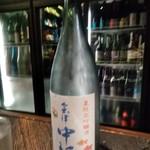 89603009 - [ドリンク] 会津 中将 (夏限定 吟醸酒) ボトル全景♪w