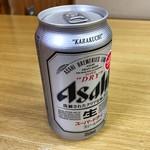 湯テルメ谷川 - ビール 350円。