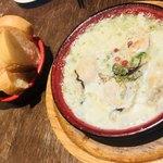 MA MAISON - 牡蠣と生海苔 クリーム仕立て 900円