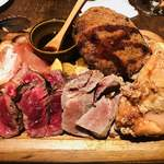 MA MAISON - 肉盛りプレート 2,800円