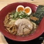 麺屋 茜 - 濃厚味玉ラーメン