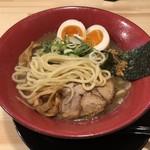 麺屋 茜 - ストレート太麺