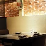 BULLS - ボックスシートのゆったりテーブル