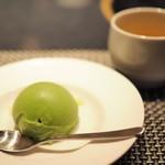 BULLS - デザート:抹茶のアイス