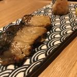 れんこん - さわらの柚庵焼き