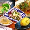 あなぐま亭 - 料理写真:「昼呑みセット」(5品+ドリンクで900円)のおまかせ肴5品。これに500円以下のドリンクをセット出来る。