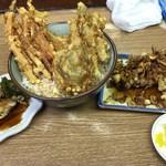 豊野丼 - まぐろ天丼とアネックス1と2