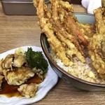 豊野丼 - まぐろ天丼とアネックス1