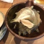 囲炉茶屋 - さざえの壺焼き