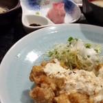 つくよみ - 鶏タルタル南蛮定食。(定番)
