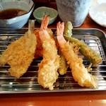 北の杜 市 - 天ぷら定食