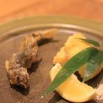 こりょうり たか屋 - 料理写真:鮎の天ぷら
