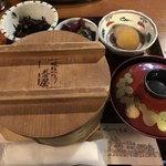 くらづくり本舗 - 2018/7/21 ランチ利用。 せいろ赤飯(1,080円)