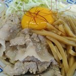 麺屋十郎兵衛 盛岡南店 - 豚バラ生姜焼きまぜそば(アップ)