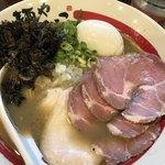 麺や でこ - 特製追い煮干そば@1,100円