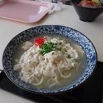 んまがぬ家 - ゆし豆腐そば(大盛)750円