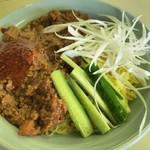あじ平 - 料理写真:ジャージャー麺(夏季限定)