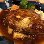 山本のハンバーグ - 料理写真:ふんわりハンバーグ(1,230円)