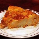キッチン アツマル - スペイン風オムレツ