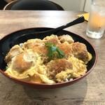 かつのみせ 菱の家 - 玉子2個使ったかつ丼(2018.7.22)