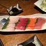 居酒屋 大たる - 手巻き寿司の具材のよう