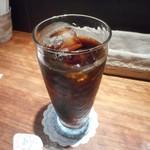 石釜 ベイクブレッド 茶房 タムタム - アイスコーヒー