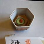 89636241 - 先付けの胡麻豆腐