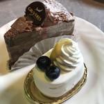 グリュイエール - レアチーズ・生ショコラ
