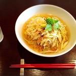 中国菜 秀 - 料理写真:ねぎ汁そば♡